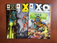 X-O Manowar #0 1 2 (1992) 9.2 NM Valiant Key Issue Comic Book John Cena 1st App