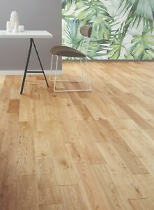 Style Country Solid Oak Wood Flooring 1.44m2 (£31.50 per m2) SAVE 30% OFF RRP