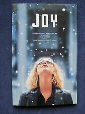 JOY by DAVID O. RUSSELL First Appearance in Book Form - JENNIFER LAWRENCE Film