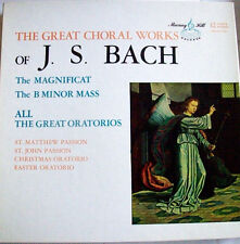 The Great Choral Works of J.S. Bach(Christmas/Easter)Murray Hill 11LP Box Set EX