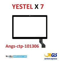 VETRO TOUCH YESTEL X7 FLAT Angs-ctp-101306 NERO