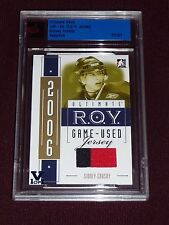 14-15 ITG Vault SIDNEY CROSBY R.O.Y. GOLD 1/1 RC 2CLR JERSEY *from 05-06 ITG 1/1