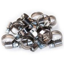 Schlauchschellen 12-20 mm 15 Stück Set W2 Edelstahl Stahl 9mm breit Bandschellen