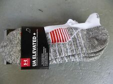 NWT UNDER ARMOUR WOMEN'S UA ELEVATED + PERFORMANCE NO SHOW SOCKS.SIZE 10-13.2022