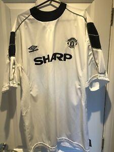 1999-00 Manchester United Man Utd 3rd Shirt XL