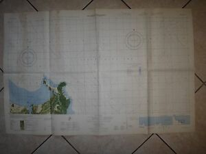 Vietnam Guerre Couleur Photomap Quang Ngai Province Sud Chine Mer Drap 6739 I N