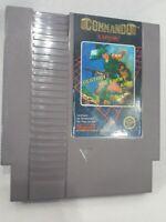 Commando Nintendo NES Video Game Pak Cartridge Tested Working Great Shape