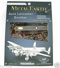 METAL Earth AVRO LANCASTER BOMBER 3D METAL MODEL KIT-NUOVISSIMO E SIGILLATO!!