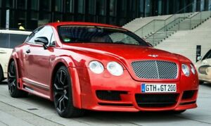 BENTLEY CONTINENTAL GT FULL WIDE BODY KIT 2003-2010