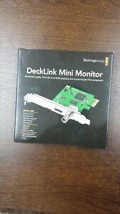 Blackmagic Decklink Mini Monitor