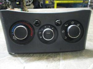 2006-08 MITSUBISHI ECLIPSE Heater A/c TEMPATURE Control W BEZEL BLACK OEM MODULE