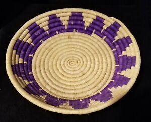 Hounduran Native Handmade Straw Basket