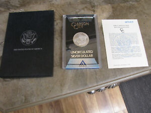 1884-CC GSA Morgan Silver Dollar  ANACS MS-62 PL PROOF LIKE  w box & certificate