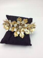 Betsey Johnson I Dream of Betsey Flower Hinged Bracelet Db12