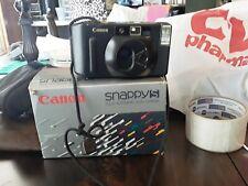 Canon Snappy Lx Ii 35mm Point & Shoot Film Camera