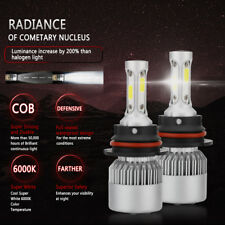 9004 HB1 200W 20000LM LED Car Headlight Kit Bulbs 6000K White Power Front Light