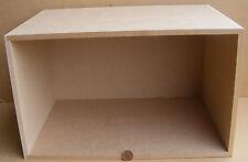1:12 Escala Casa De Muñecas Mostrador Paquete Plano Grande Habitación Sombra