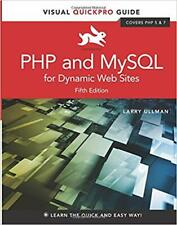 Php and MySql for Dynamic Web Sites Visual QuickPro Guide 5th Edition by Larry U