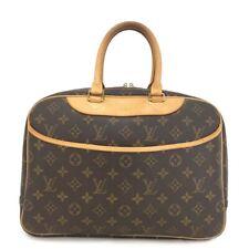 100% Authentic Louis Vuitton Monogram Deauville Boston Travel Hand Bag /11721