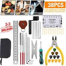 More details for 38 in 1 guitar care cleaning repair tool kit luthier setup maintenance tools set