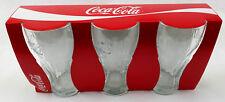 Coca-Cola Kontur Gläser 0,37l 370 ml - Glas - Relief - Coca 6 - 18 Stück NEU