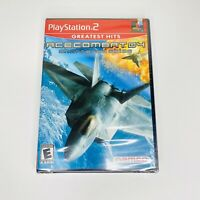 Ace Combat 04: Shattered Skies Sony PlayStation 2 PS2 2001 Original Sealed Mint