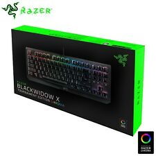 Razer BlackWidow X Tournament Edition Chroma RGB Mechanical Gaming Keyboard LE