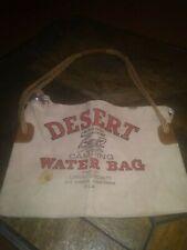 DESERT BRAND. Camping WATER BAG..VINTAGE