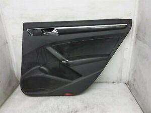 2012-2019 Volkswagen Passat Rear Right Interior Door Trim Liner Panel Black Oem