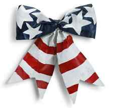 USA Flag Bow Door Hanger, Banner, Screenings, # 2020170634 Demdaco