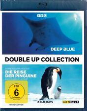 DEEP BLUE + DIE REISE DER PINGUINE (2 Blu-ray Discs) NEU+OVP