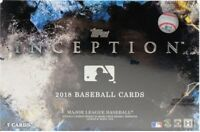 2018 Topps Inception #1-100 Base and Parallel YOU PICK! FREE SHIPPING!