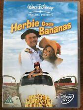 HERBIE GOES BANANAS ~ 1980 Walt Disney Volkswagen Beatle Love Bug Classic UK DVD