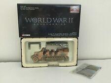 Corgi Krauss-Maffei Sd.Kfz.7 Semi-Track,1:50,Die-cast,#US60003,Ltd.Ed,WWII-NIB
