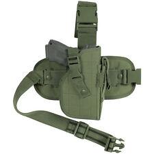 Survival Tactical Holsters Pistol Gun Drop Leg Thigh Holster Pouch Holder Od