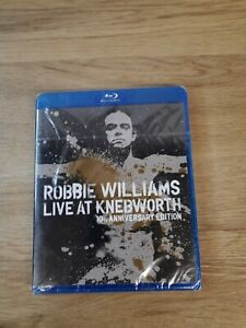 Robbie Williams Live at Knebworth 10th Anniversary Edition Blue Ray New & sealed