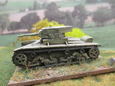 Lancer Miniatures 20MM WW2 Russian T26 B Tank Painted to order Rapid Fire