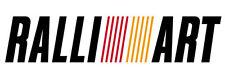 Ralliart Ralli Art Pegatina Mitsubishi EVO Evolution V VI VII Vii SUNSTRIP 1000 mm
