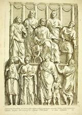 Au tribunal Trojan & 4 sénateurs donne audience XVII ème François Perrier 1645