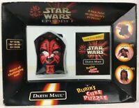 Star Wars Episode 1 Darth Maul 1999 Rubiks Cube Puzzle Special Edition-New/Boxed