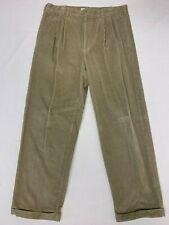 Men's Gap Easy Fit Tan Beige Corduroy Pants 36 X 30 EUC