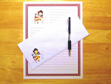 Seamstress Stationery Writing Set With Envelopes - Lined Stationary