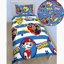 PAW PATROL PAWSOME SINGLE DUVET COVER SET NEW KIDS BEDDING