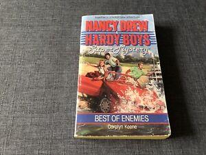 NANCY DREW & HARDY BOYS SUPER MYSTERY Best of Enemies  C Keene (1991) Archway PB