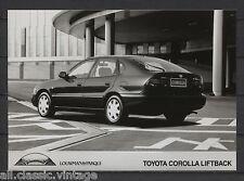 PRESS - FOTO/PHOTO/PICTURE - Toyota Corolla Liftback