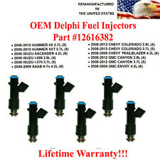 Single OEM Delphi Fuel injector 25358575 for 05-07 Chevrolet Buick GMC Envoy 4.2