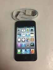 Apple iPod touch 4th Generation Black (32 GB) - Good Working - No Ca