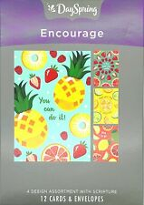 Encouragement – Fresh Fruit - 12 Boxed Cards