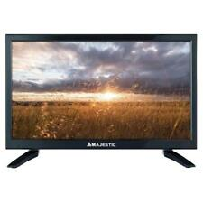 "Combo Tv Televisore 20"" MAJESTIC 12V HD DVB-T2 12Volt Camper CAMIO AUTO BARCA"