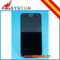 Pantalla Completa para Huawei Ascend G7 Negro Lcd + Tactil negro  display Touch